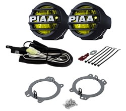 PIAA Vehicle Specific Lamp Kits piaa jeep wrangler jk 2010 2018 530 led ion driving light vsk   22 05332