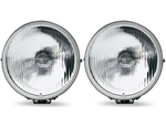 PIAA 04062 PIAA 40 Series 6 Inches Halogen Round Clear 55W Driving Lam