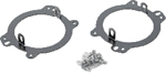 """""""PIAA LP530 Series Factory Opening Mounting Bracket Kit, 2010 Jeep Wrangler JK Brand New Includes Limited Lifetime Warranty, The PIAA 30330 is a 10-13 Jeep Wrangler mount bracket kit"""