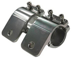 """PIAA Aluminum Tubular Mounting Kit, Black Fits 1.5"""" Bars / Tubes Brand New Includes Limited Lifetime Warranty, The PIAA 30715 is a 1.5"""" Black Aluminum tabular mounting kit"
