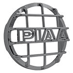 """PIAA 520 Series Chrome Mesh Guard, w/ PIAA Logo Brand New Includes 90 Day Warranty, The PIAA 45020 is a 520 series chrome mesh guard that protects your PIAA lamps"