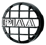"""""""PIAA 520 Series Black Mesh Guard, w/ PIAA Logo Brand New Includes 90 Day Warranty, The PIAA 45022 is a 520 series black mesh guard that protects your PIAA lamps"""