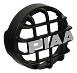 """""""PIAA 510 Series Black Mesh Guard, w/ PIAA Logo Brand New Includes 90 Day Warranty, The PIAA 45102 is a 510 series black mesh guard that protects your PIAA lamps"""