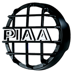 """""""PIAA 540 Series Black Mesh Guard, w/ PIAA Logo Brand New Includes 90 Day Warranty, The PIAA 45400 is a 540 series black mesh guard that protects your PIAA lamps"""