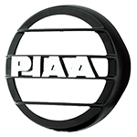 """PIAA 580 Series Black Mesh Guard, w/ PIAA Logo Brand New Includes 90 Day Warranty, The PIAA 45801 is a 580 series black mesh guard that protects your PIAA lamps"