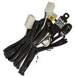 PIAA 34085 PIAA Wiring Harness up to 85W - PLF5B - with White Square C