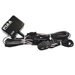 PIAA 34400 PIAA Wiring Harness 525 Driving Lamp Kit - 2 Large Black Pl